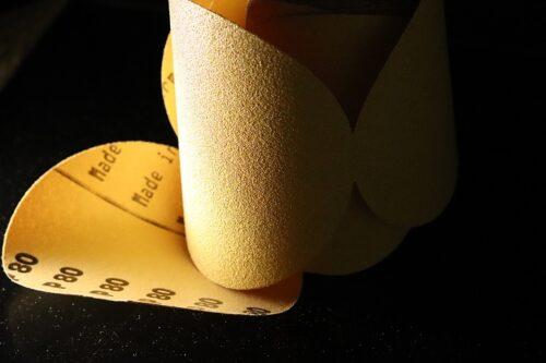 Paper-Backed Sanding Discs